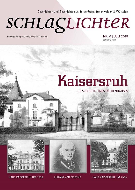 Schlaglichter Heft 6 Kaisersruh